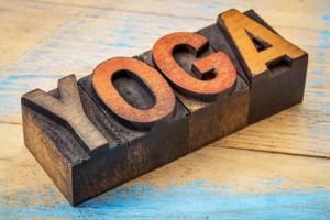 Wood Yoga Blocks showing Oakville yoga Therapy