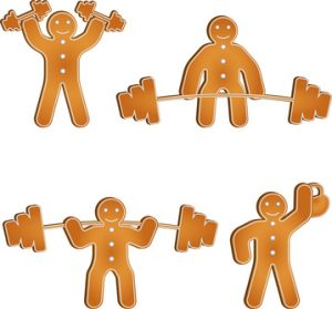 Gingerbread man showing gift ideas from oakville Physiotherapy clinic