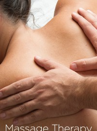 Massage Therapy in Oakville, person having massage, physio treatment