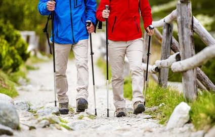 Nordic walking to show treatment in North Oakville Medical for breast cancer treatment