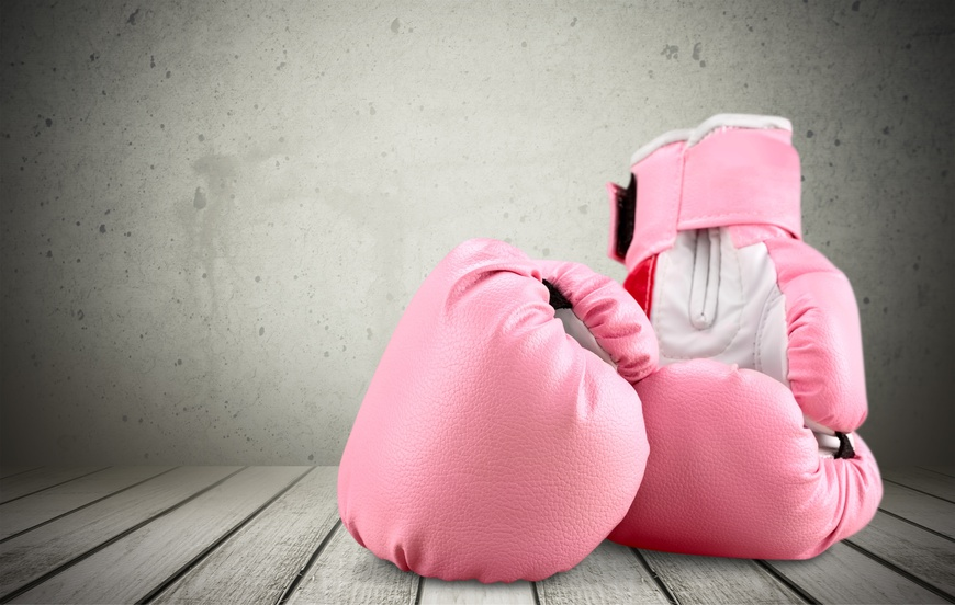 Boxing gloves showing North Oakville medical breast cancer physio and education