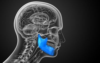 Photo of TMJ showing Physiotherapists treat Jaw pain