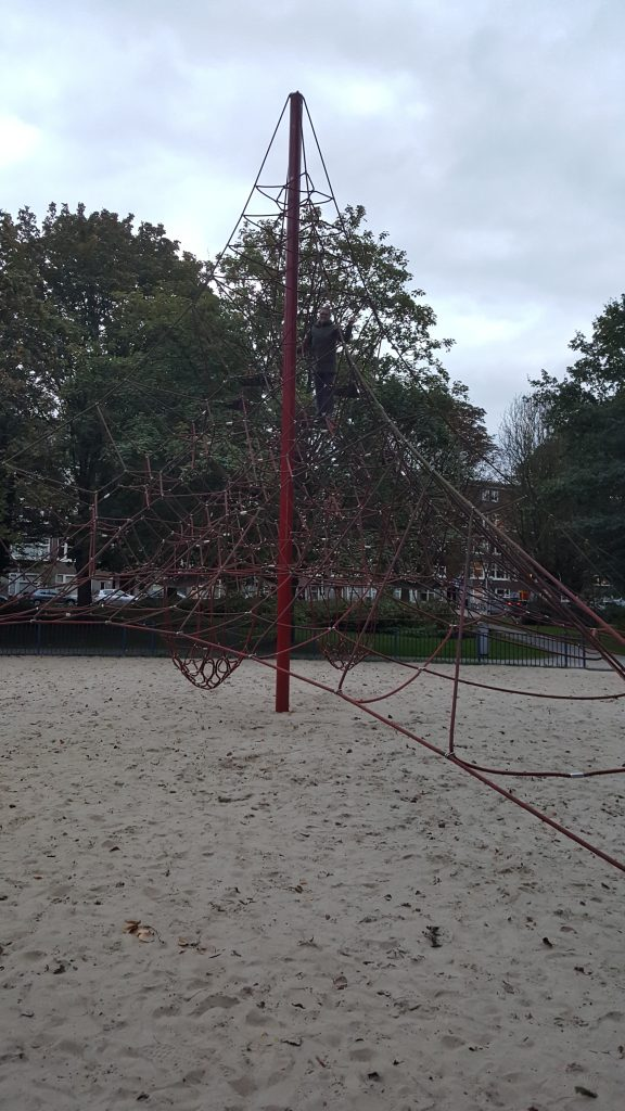 Park in Amsterdam showing Oakville Physio playing