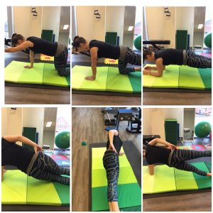 Core exercises for injury prevention from an oakville Physio