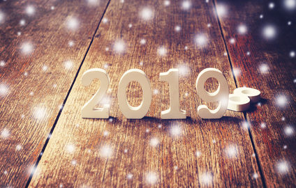 Wooden numbers 2019 For the new year 2019 from oakville Physio, pelvic health, pelvic floor, massage, foot clinic