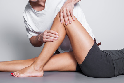 knee picture showing best north Oakville physio clinic for ACL reconstruction surgery physio and massage