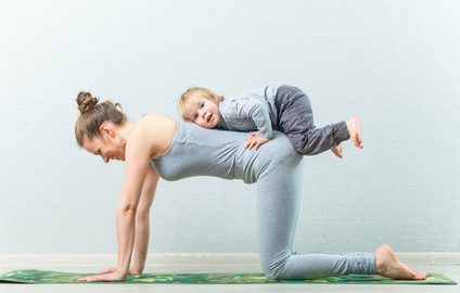 yoga stretching poses from an oakville virtual physio