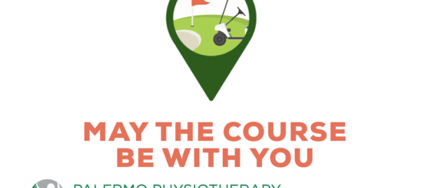Golf course logo showing oakville Physio doing virtual physio for golfers