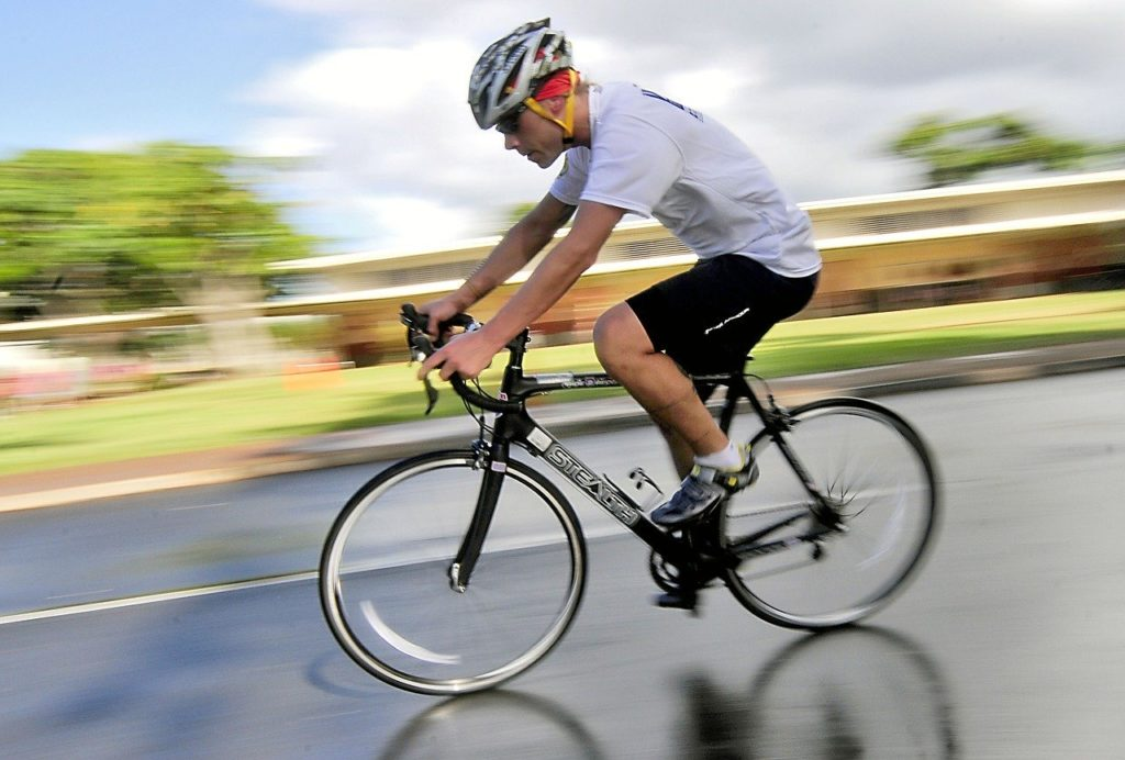 cycling is a form of cardio , cardiorespiratory exercise